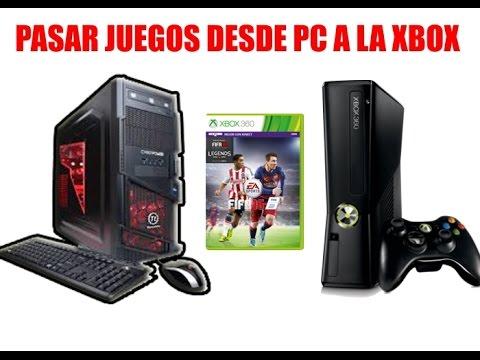 Como Pasar Juegos Descargados de la PC a la XBOX 360 por USB (Xbox Chipeada)