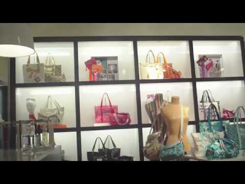 Shopping At Coach Store 4 Bags, Wallets  Spycam