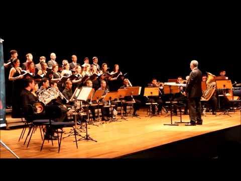 Itatiba - Final do concerto do Coro Acadêmico e Grupo de Metais