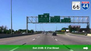 Westbound I-44, Tulsa, OK