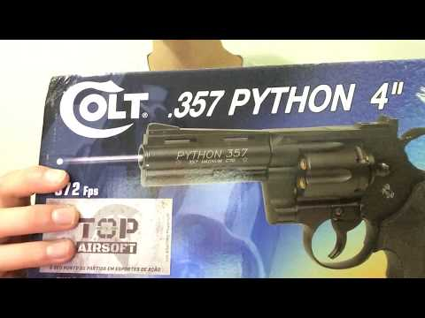 Review Revólver de airsoft  Python 357 Full metal co2- Cybergun