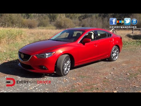 2015 Mazda6 0-60 mph Test on Everyman Driver
