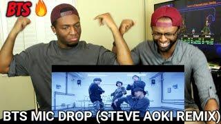 Download Lagu BTS (방탄소년단) 'MIC Drop (Steve Aoki Remix)' (REACTION) Gratis STAFABAND
