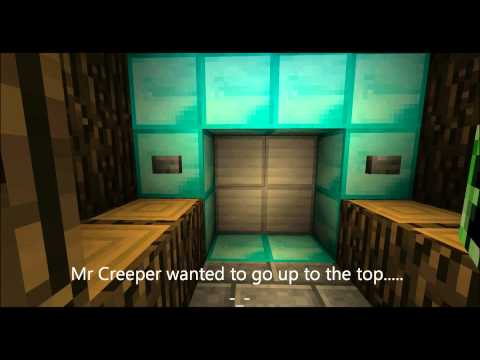 Best MineCraft Elevator ever! With music!
