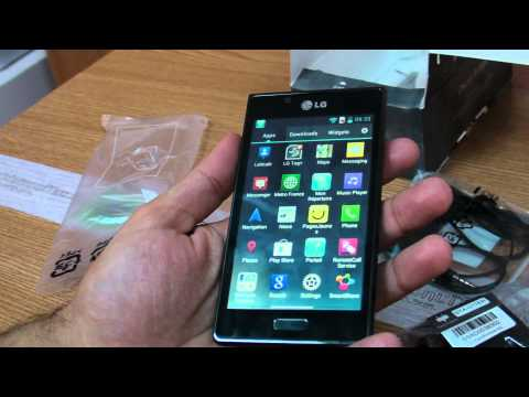 LG Optimus L7 P700 review HD ( in Romana ) - www.TelefonulTau.eu -