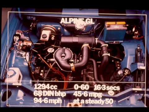 Chrysler Alpine, (Simca 1307, 1308) Pre-Launch Presentation