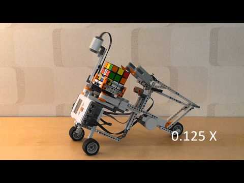 Watch Lego Solving Robot