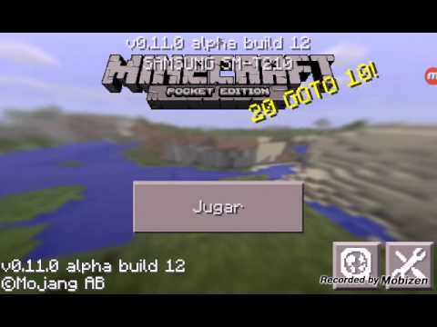 Blocklauncher para mcpe 0.11.0 alpha build 12 y 11