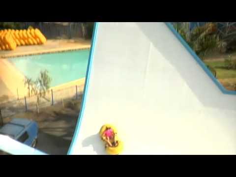 Rocket Water Slide Kamikaze Water Slide at Wet n