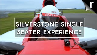Rory Reid drives a single seater at Silverstone!