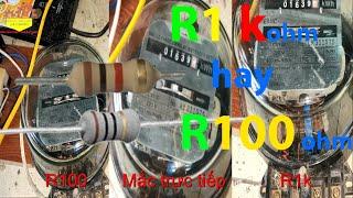 Cách làm công tơ điện quay chậm
