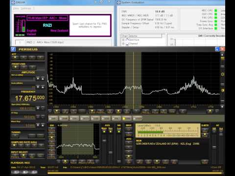 17675kHz Queen♪Radio on Radio New Zealand International DRM. Received in JAPAN