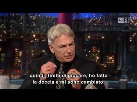 Mark Harmon @ David Letterman Show 13/05/13 SUB ITA