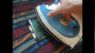 Resurrecting my Graphics Card using Electric Iron