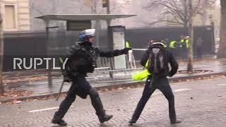 France: Over 200 arrested in 'Yellow Vests' protests