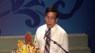 Speech of Honorary Mr  Minh, Director of HCMC DOET at HIBS Graduation Ceremony 2010