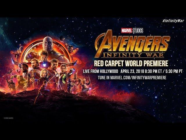 Marvel Studios Avengers Infinity War - Red Carpet World Premiere