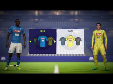 FIFA 18 All Serie A Teams & Kits