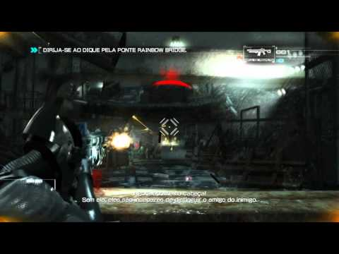 Gameplay - Binary Domain Traduzido