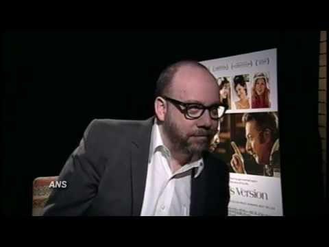 PAUL GIAMATTI BARNEY'S VERSION INTERVIEW