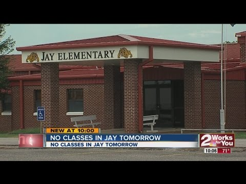 Jay Schools Closed Due To Water Problem