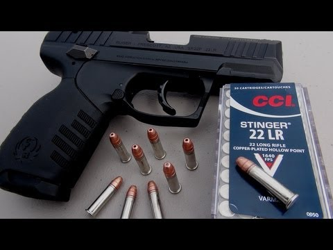 .22 LR Handgun for Self Defense?  CCI Stinger Ammo Test Image 1