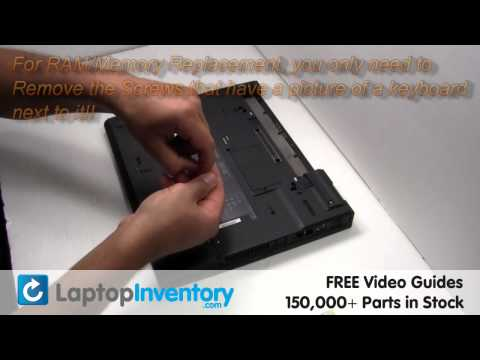 IBM Lenovo RAM Memory Replacement Guide Installation Upgrade - T40 T21 T42 T43 T41p T42p