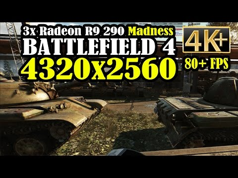 Bf4: Zavod 311 4k Gameplay (4320x2560) - 3x Radeon R9 290 Overclocked video