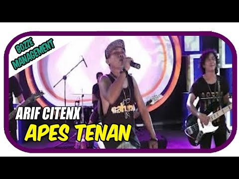 APES TENAN - ARIF CITENX [ OFFICIAL KARAOKE MUSIC VIDEO ]