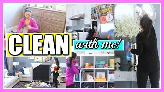 ALL DAY CLEAN WITH ME! + TESTING OUT AMAZON CLEANING GADGETS!