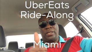 UberEats Rainy Ride-Along