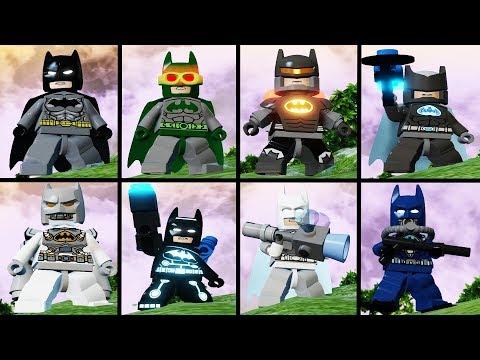 รีวิวชุด Batman ในเกม Lego Batman 3