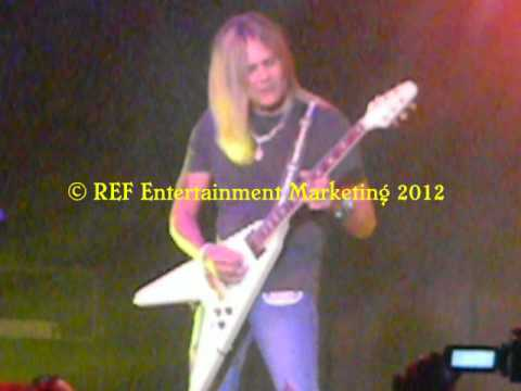 CARLOS CAVAZO does RATT Lay It Down Part 4 Las Vegas Copyright REF Entertainment Marketing 2012