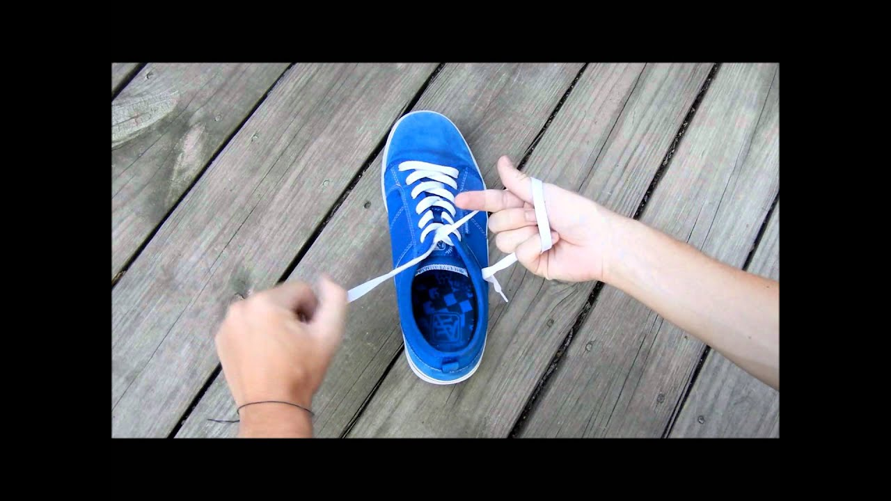 New Easy Way To Tie Shoes