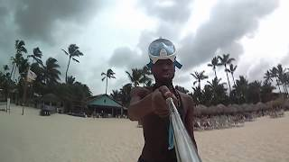 Greatest Rapper From Richmond - GoPro video in Punta Cana