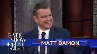 Matt Damon Thought The