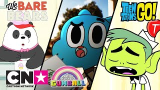 Teen Titans Go! + Gumball + We Bare Bears | Wie man einen Job kriegt | Cartoon Network