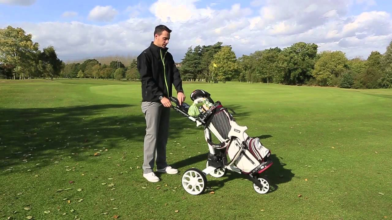 Video Review Stewart Golf R1 Push Trolley Today S