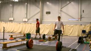 Mike - Clean and power Jerk (sumo) 130 Kg @ 81 Kg (159 pts)