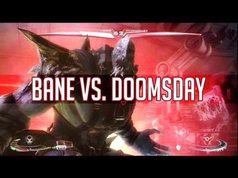 Bane vs. Doomsday - Injustice Gods Among Us Gameplay