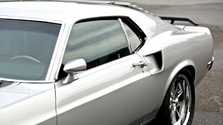 1969 Mustang Mach 1 - Gorgeous Silver Muscle Car