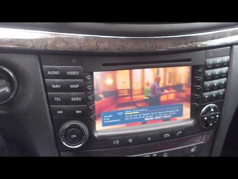 Veyron vns-mbe multimedia/navigation system for mercedes-benz w211 e-class (2002-2008) or w219 cls-class (2004-2011)