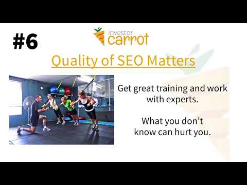 Real Estate SEO Tips: What Investors Need to Know About SEO in Under 3 minutes