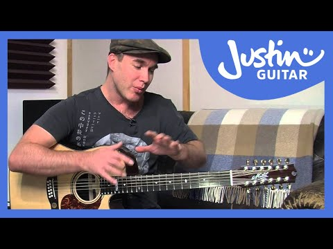 12 String Guitar: Tuning, Tips & Tricks On A Maton Messiah (Guitar Lesson TE-501)