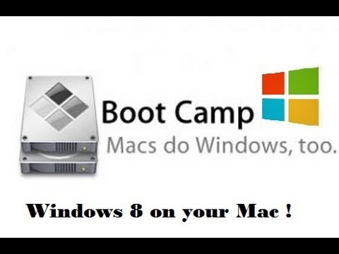 How to Install Windows 7 8 On Mac Using Bootcamp 32 - 64bit [HD]