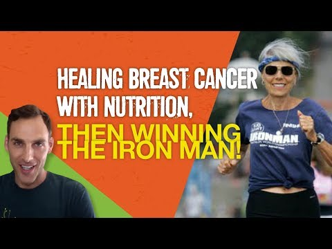 She healed breast cancer with nutrition then won the Iron Man!