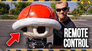 Real Mario Kart Red Shell - 30MPH!!