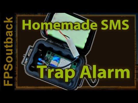 Homemade SMS Trap Alarm