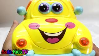 Learning colors with fruits and shapes car toy Sodakidstv