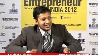 Kushal Nahata of Roboticwares  at